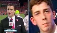 Sergio Dipp Responds After Giving The Most Cringeworthy Sideline Report of All-Time