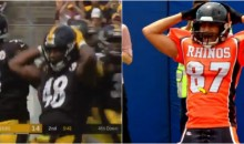 Steelers LB Bud Dupree Goes Full McCringleberry With Four Pumps In Celebration (VIDEO)