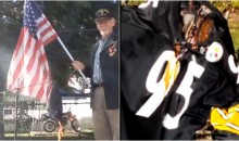 Angry Steelers Fans Burn Jerseys After Team Doesn't Come Out For Anthem (VIDEOS)
