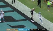 Saints WR Brandon Coleman Raises Black Power Fist After Touchdown (VIDEO)