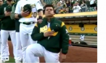 Bruce Maxwell Says He's Received Death Threats Since Kneeling During Anthem
