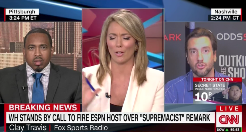 CNN Commentator Clay Travis: '1st Amendment and Boobs' Never Let Me Down