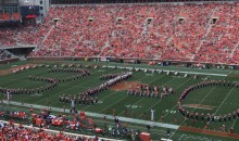 "Clemson Band Trolls Ohio State By Forming ""31-0″ During Halftime Show (PICS + VIDEO)"