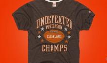 Someone Made Custom T-Shirts to Celebrate Browns' Perfect Preseason