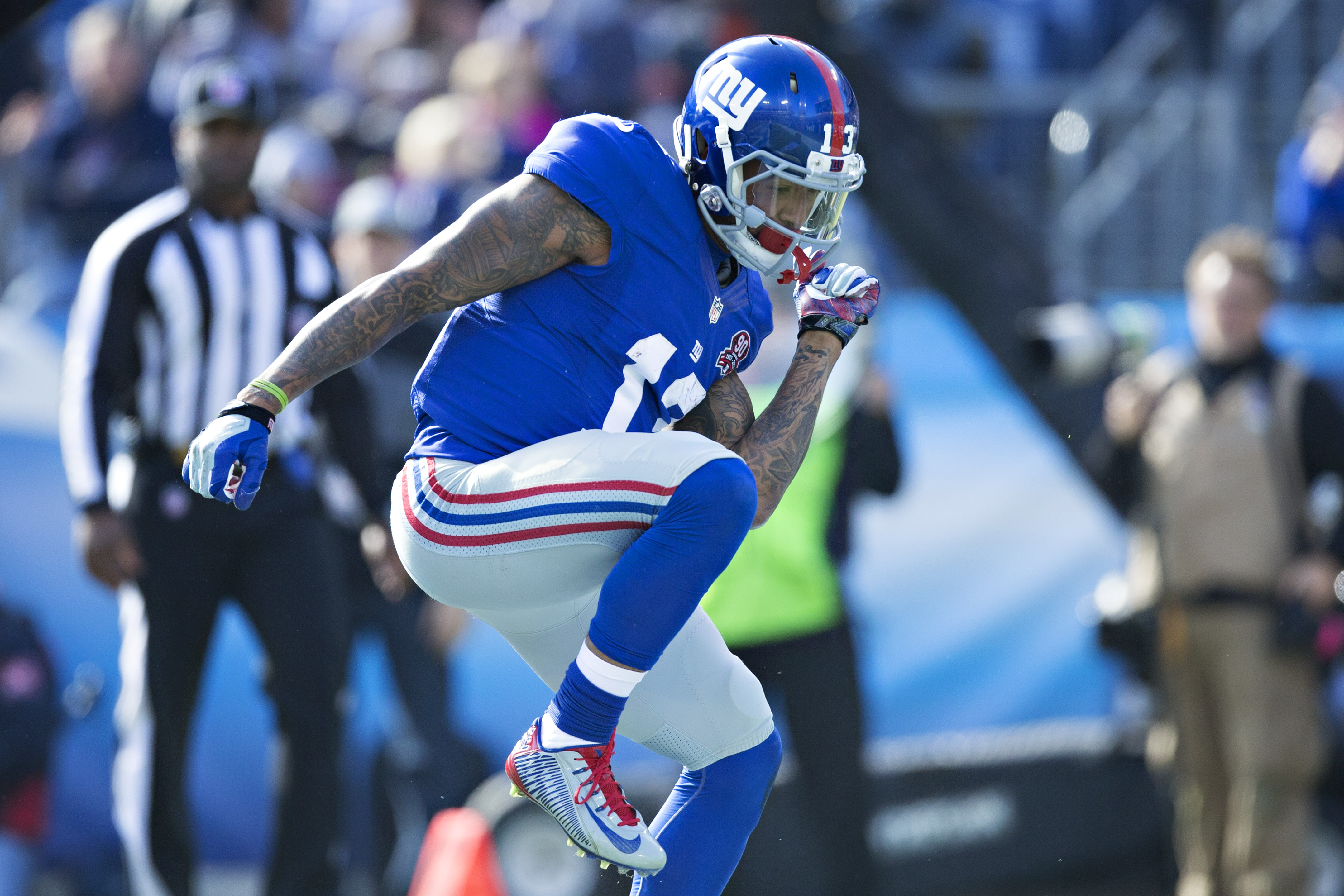 Total Pro Sports Odell Beckham Jr Was Healthy Enough To