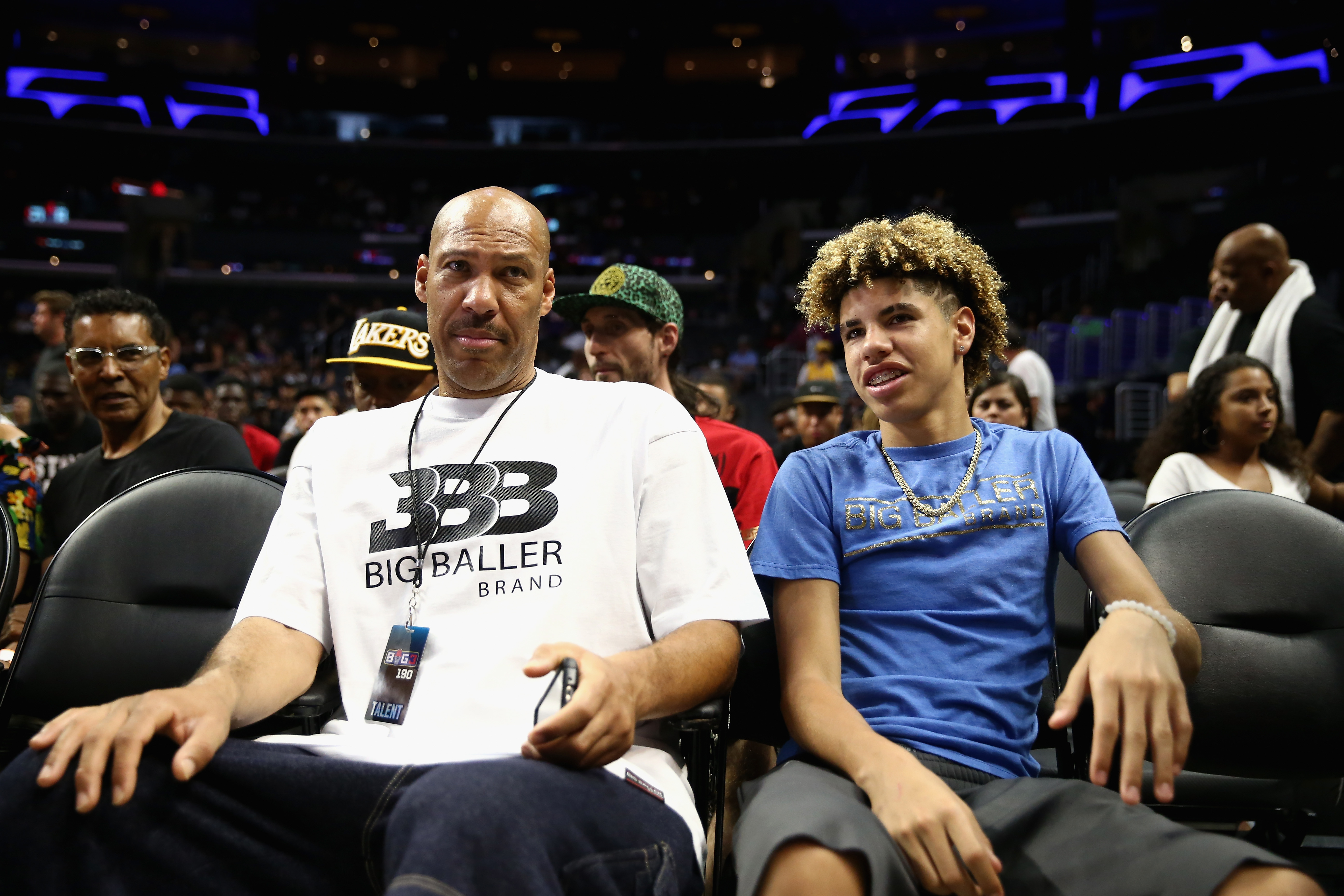 LaVar Ball wants shoe deal over college eligibility for his son