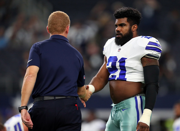 Ezekiel Elliott will play at least the next two games for Dallas
