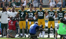 Aaron Rodgers Delivers a Hilarious Take on Kneeling Cameraman During The Anthem (PIC)