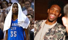 Joel Embiid Savagely Trolls Kevin Durant Over Fake Social Media Accounts (Tweet)
