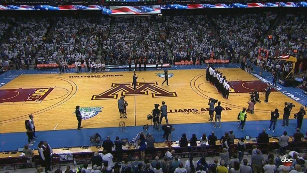Los Angeles Sparks Skip National Anthem At Women's NBA Finals