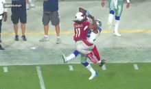 Larry Fitzgerald Made Probably The Best Catch of The Year (VIDEO)