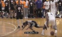 John Wall Destroyed The Ankles of 5′ 2″ Comedian Lil Duval (VIDEO)