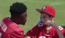 Marquise Goodwin's Inspirational Words For 11-Year-Old With Brain Tumor Will Make You Cry (VIDEO)