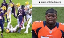 Danny Trevathan Gets Wikipedia Update After Brutal Hit on Davante Adams (PICS)