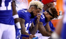 New Picture Revealed Just How Bad Odell Beckham Jr. Dislocated His Finger on Sunday (PIC)
