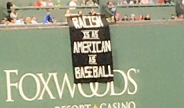 Red Sox Racism Sign