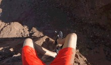 Slip 'n Slide That Goes Right Off a Cliff Will Give You a Heart Attack Just Looking At It (Video)
