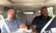 Shaq and John Cena Do Just Fine at 'Carpool Karaoke' Without James Corden (Video)
