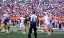 Browns Start Season By Getting Punt Blocked & Returned For a Steelers Touchdown (VIDEO)