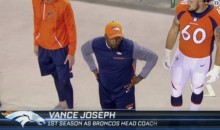 ESPN Thought Some Random Black Dude on the Sideline Was Broncos Coach Vance Joseph