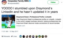 College-Age Draymond Green Had a LinkedIn Page, and It's Glorious