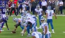 Matthew Stafford Uses Good Buddy Clayton Kershaw as an On-Field Audible (Video)