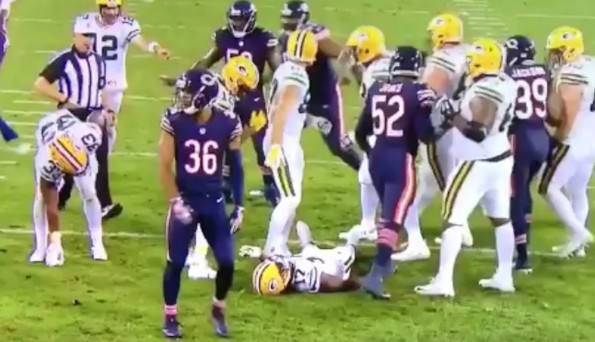 e075697d8 Danny Trevathan Gets Wikipedia Update After Brutal Hit on Davante ...