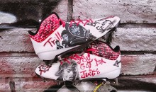 Cardinals' Chris Johnson Gets Custom Tupac Cleats (PIC)