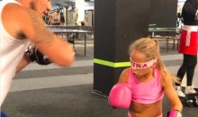 Kickboxing Girl Could Literally Beat You Up Blindfolded (VIDEO)