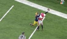 Georgia's Terry Godwin Makes INSANE OBJ-Like Catch For TD vs. Notre Dame (VIDEOS)