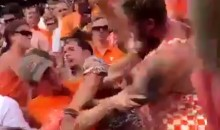 Tennessee Volunteers Fans Brawl, Throw Haymakers During 41-0 Loss vs. Georgia (VIDEO)