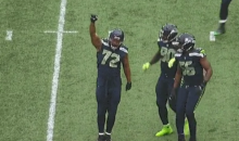 Michael Bennett Celebrated A Sack Against 49ers With A Raised Fist (VIDEO)