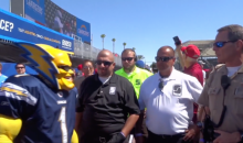 "Chargers Superfan ""Boltman"" Had a Run-In with StubHub Center Security and Now Says He'll Never Go Back (Video)"