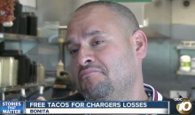 San Diego Restaurant Offering Free Tacos For Chargers Losses (VIDEO)
