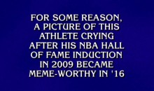 'Jeopardy!' Actually Asked A Question About The Crying Jordan Meme (VIDEO)