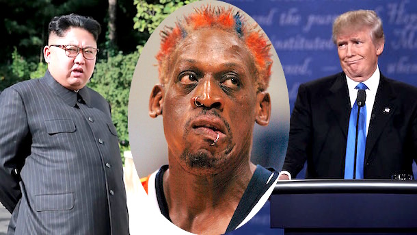 Rodman's insane  plan to 'straighten out' US, Nth Korea tensions