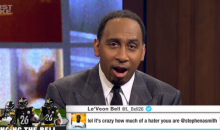 Stephen A. Smith Calls Le'Veon Bell 'Sensitive' & In Need of a Pedicure After Calling Him a 'Hater' (VIDEO)