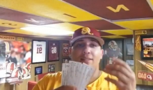 Watch What This Long Time Redskins Fan Does With His Season Tickets Because of Kneeling Players (VIDEO)
