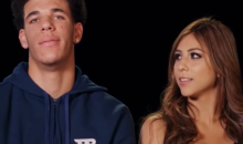 Lonzo's GF Says He Would Never Cheat With Hoes Because She 'Would Catch Him' (VIDEO)