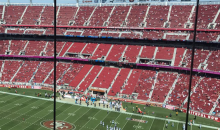 49ers Fans Decided To Go Home at Halftime Since The Team Wasn't Competitive