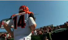 Angry Cincinnati Bengals Fan Throws Hat At Andy Dalton; Another Yells 'You Suck' (VIDEO)
