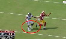 Eagles CB Ronald Darby Carted Off Field After Gruesome Ankle Injury (VIDEO)