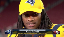 Todd Gurley Says The Rams Are Going To 'Whoop Up' On the Cowboys Next Week (VIDEO)