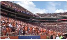 Texas Longhorns Fans Throw Debris on Field as Tom Herman's Debut Goes Horribly Wrong (VIDEO)