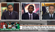 Kyrie Irving Says He Doesn't Care If LeBron Took it Personal That He Requested Trade & Didn't Speak To Him (VIDEO)
