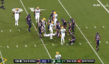 Danny Trevathan Delivered a Brutal Hit To Davante Adams (VIDEO)