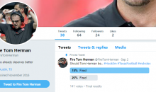 Texas Longhorns Fan Has Already Created a 'Fire Tom Herman' Account After One Game