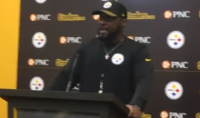 Mike Tomlin Goes OFF On Reporters, Tells Them He & The Players Don't Care About Politics (VIDEO)