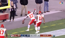 "Kansas City Chiefs Player Yells ""Let's F*cking Go!"" Right Into Hot Mic After Kareem Hunt TD (VIDEO)"