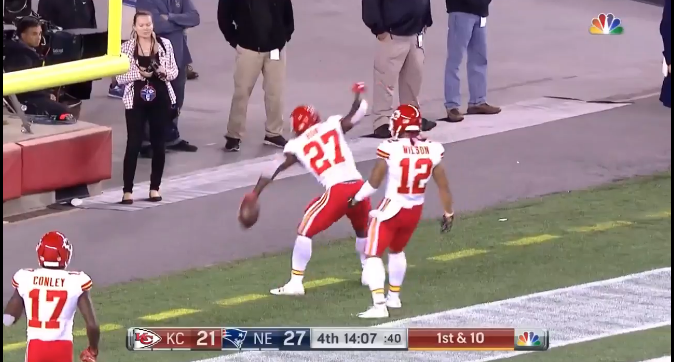 Chiefs upset defending Super Bowl champs in National Football League opener